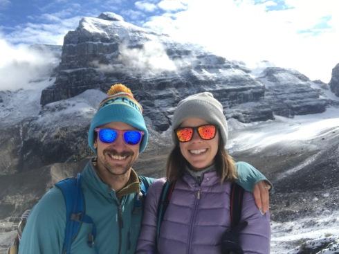 Valley of the 6 glaciers selfie yo